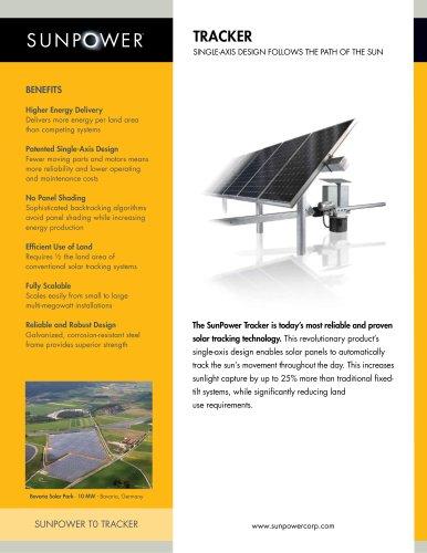 SunPower Tracker