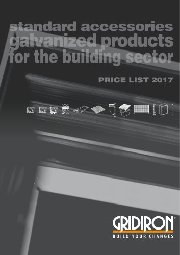 galvanized products for the building sector