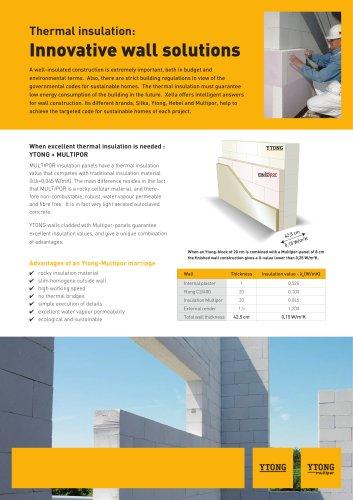 Innovative wall solutions