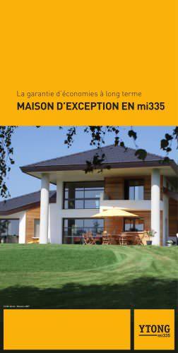 MAISON D?EXCEPTION EN mi335