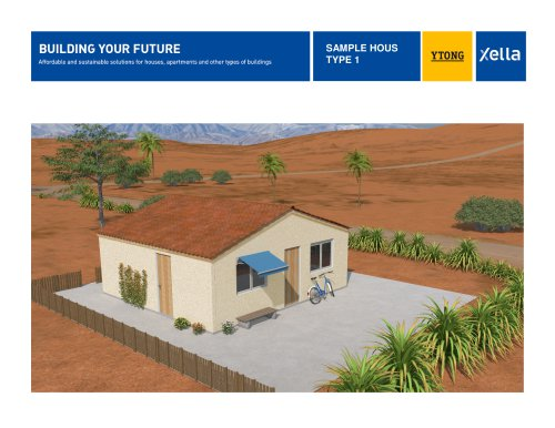 Xella Building Solutions - Sample House 1