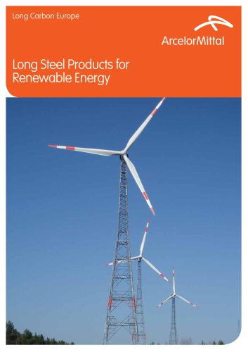 Long Steel Products for Renewable Energy