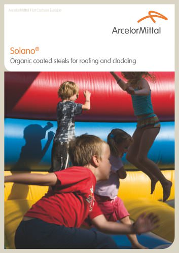 Solano - Organic coated steels for roofing and cladding