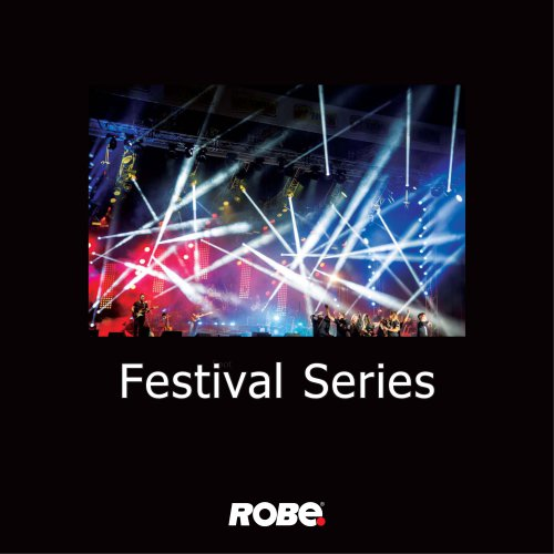 ROBE Festival Series catalogue 2017