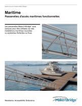 Make-A-Bridge® Système de ponts modulaires - Maritime - 1