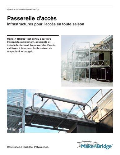 Make-A-Bridge® Système de ponts - Passerelle d?accès