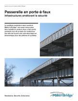 Make-A-Bridge® Système de ponts - Passerelle en porte-à-faux - 1