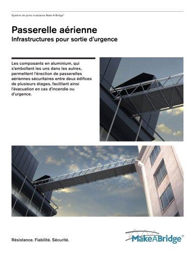 Make-A-Bridge® Système de ponts - passerelles aériennes