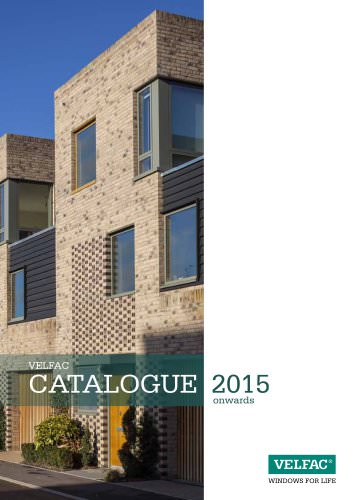VELFAC CATALOGUE 2015