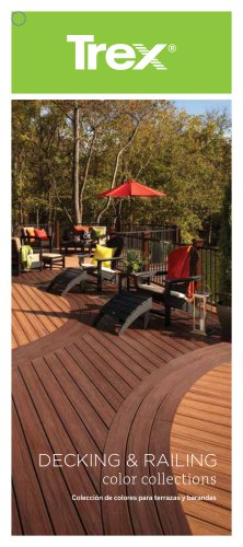 Trex decking railing