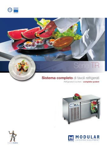 Modular Spa - Refrigerated Counters