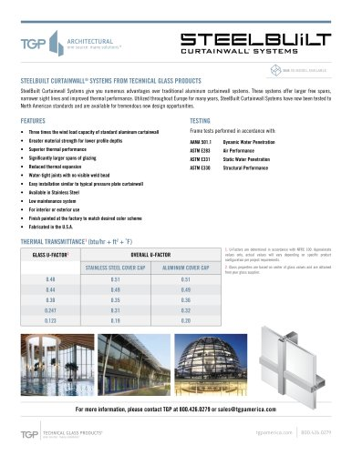 Steelbuilt Curtainwall