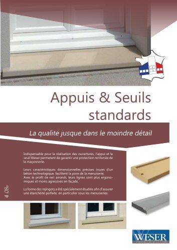 Appuis & Seuils standard
