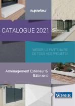 CATALOGUE 2021 - Weser, le partenaire de tous vos projets ! - Aménagement Extérieur & Bâtiment