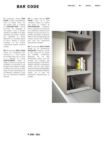 BAR CODE Catalogue