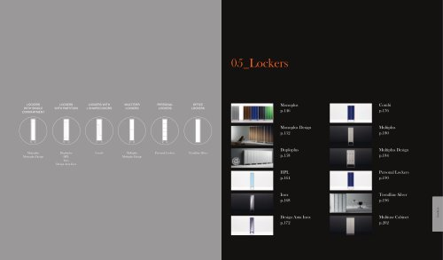 Lockers Complementary ColourChart