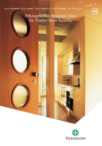 Pilkington Fire-Resistant Glass for Timber Door Systems