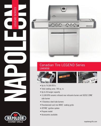 Legend Series LD485RSIB Gas Grill