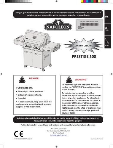 NAPOLEON - PRESTIGE 500