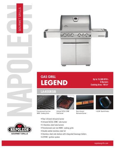 LA Series LA400RSIB Gas Grill