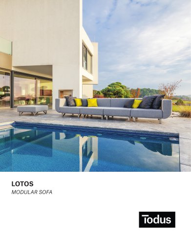 Lotos modular sofa