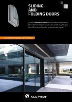 Sliding and folding doors