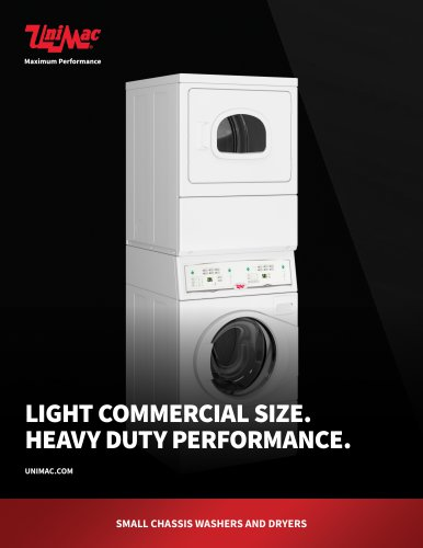 LIGHT COMMERCIAL SIZE. HEAVY DUTY PERFORMANCE.
