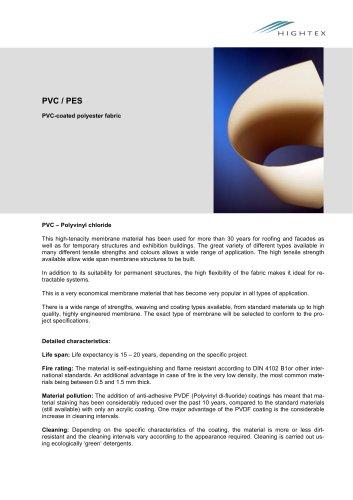 PVC/PES