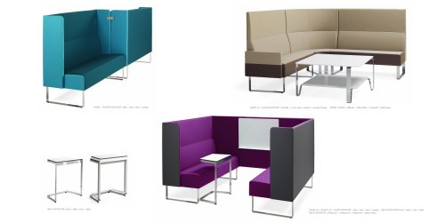 EASY CHAIRS & SOFAS:Monolite extended