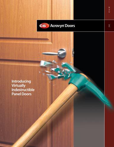 Acrovyn Doors 2012