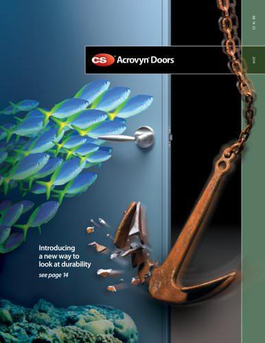 Acrovyn Doors 2014