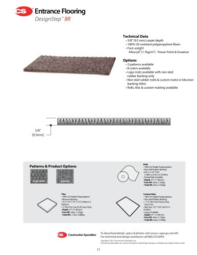 DesignStep Carpet Product_Data