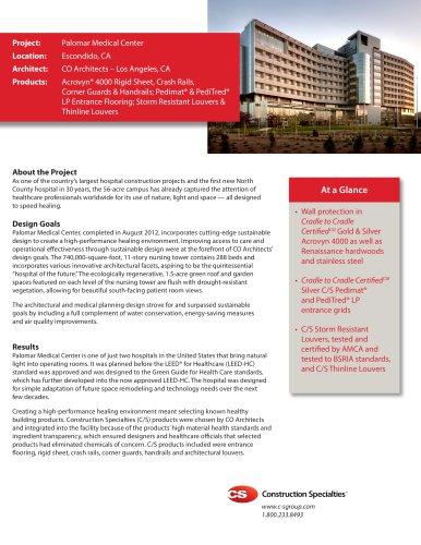 Palomar Medical Center Case Study
