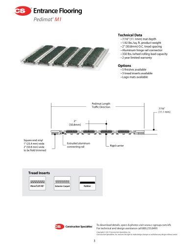 Pedimat M1 Product Data