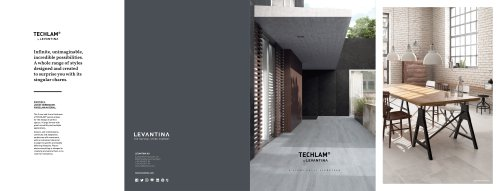 LEVANTINA-Techlam Brochure_October 2016 Collection