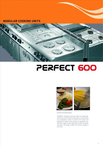 600 Series Cooking Units