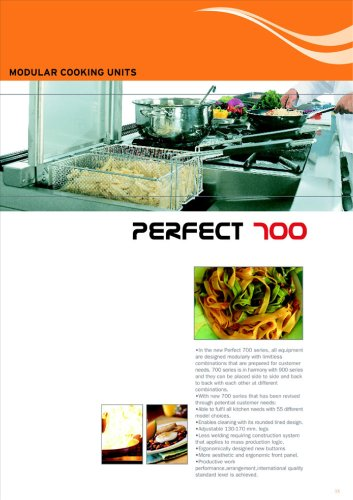700 Series Cooking Units