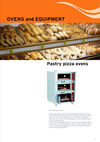 Pastry Pizza Ovens