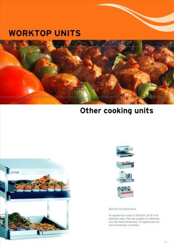 Various Cooking Units