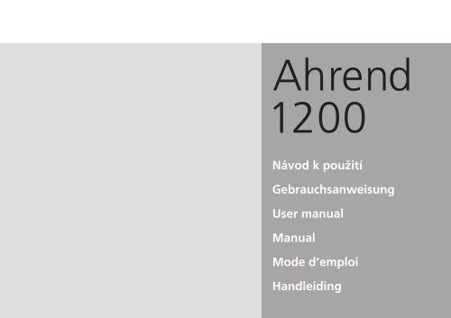 AHREND 1200