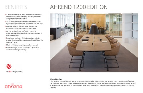 AHREND 1200 EDITION