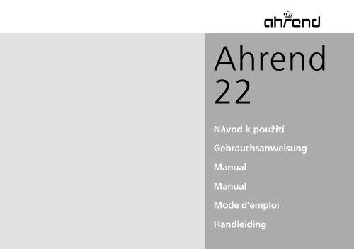 AHREND 22