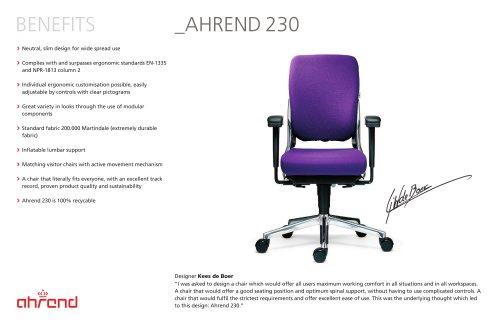 AHREND 230