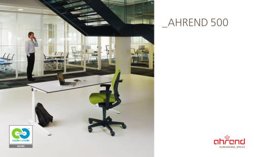 AHREND 500 BENCH