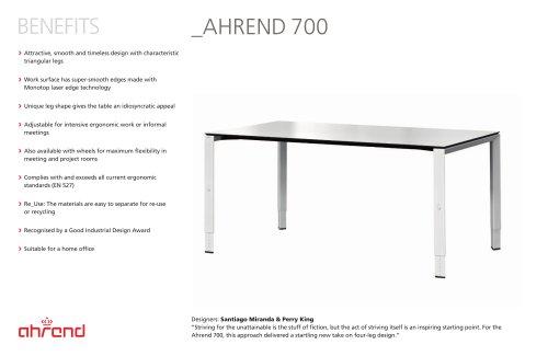 AHREND 700