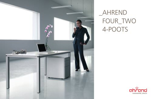 Brochure Ahrend Four Two 4-poots