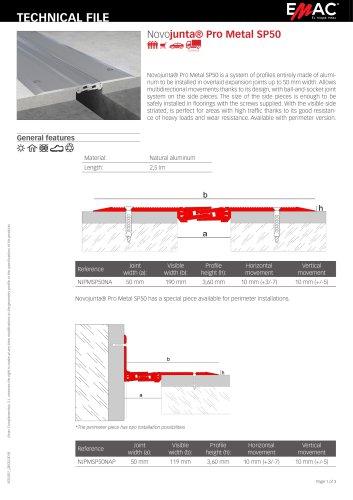 Novojunta® Pro Metal SP50