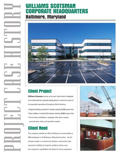 Modular Buildings-Commercial