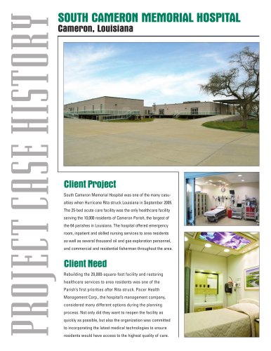 Modular Buildings--Disaster Recovery