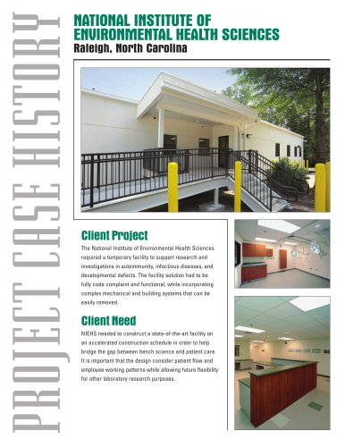 Modular Buildings-Federal Government